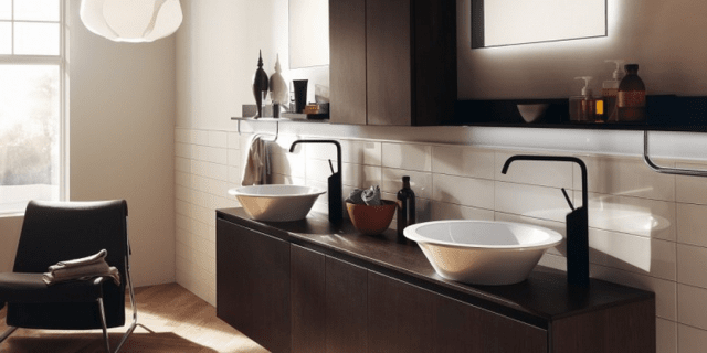 Per il lavabo, non solo ceramica