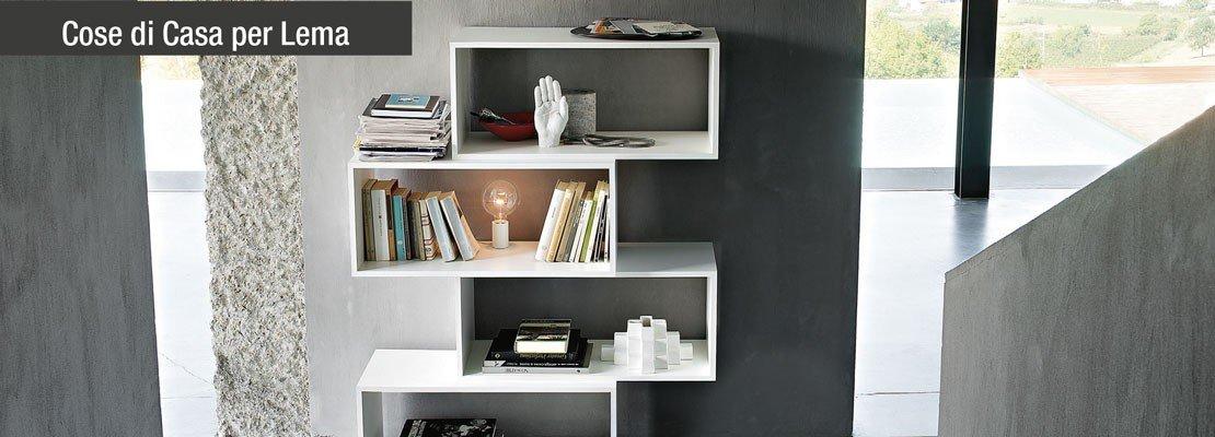 Arredamento librerie il posto giusto anche per cd e dvd for Librerie piccole dimensioni
