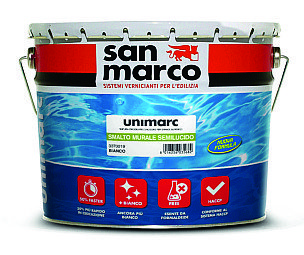 Offre buona traspirabilità ed elevata copertura lo smalto all'acqua Unimarc di Colorificio San Marco, a basso contenuto di Voc. www.sanmarcogroup.it