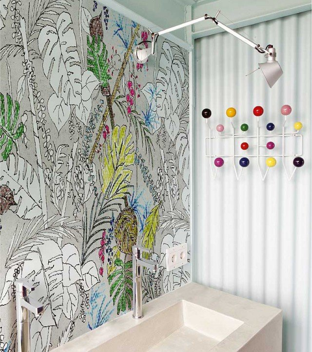 color-chain-wet-system wall&deco
