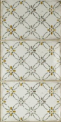In bicottura, le piastrelle decorate Imola 1874 di ImolaCeramica misurano 12 x 18 cm. 7,30 euro l'una, Iva sclusa.www.imolaceramica.it