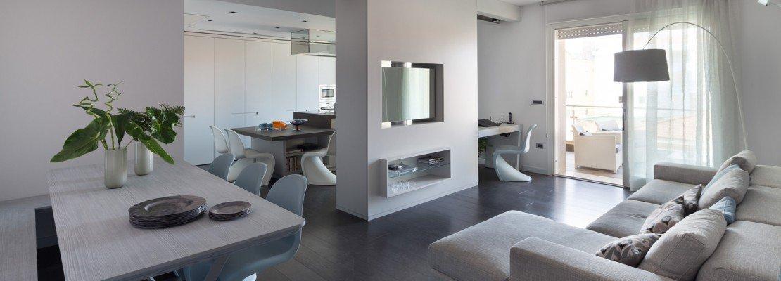 75 mq una casa con geometrie in bianco e nero cose di casa for Progetto casa 75 mq