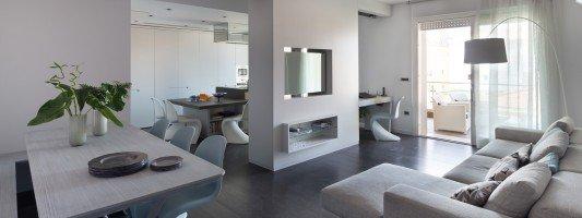 Arredamento casa da 50 a 100 mq idee e progetto - Casa 65 mq progetto ...
