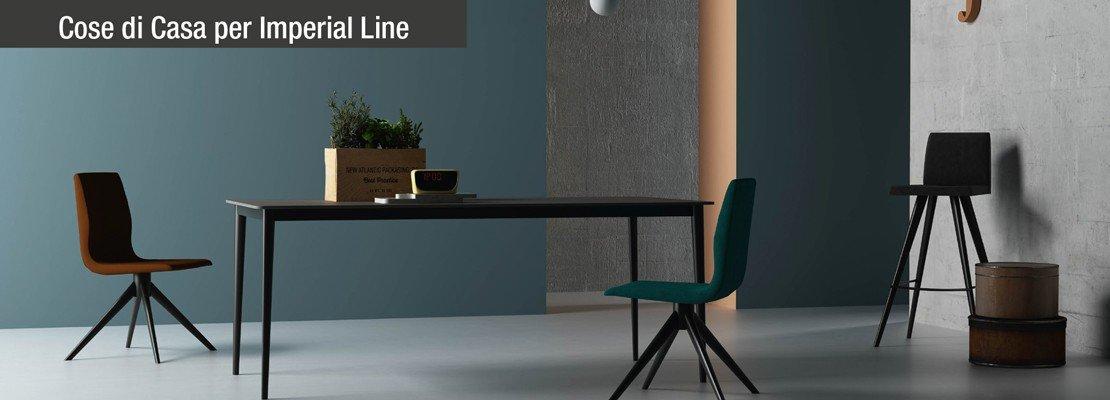 Arredamento: una collezione per la zona pranzo indoor
