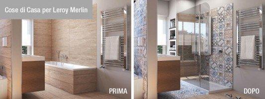 Vasche e docce accessori bagno cose di casa - Catalogo piastrelle bagno leroy merlin ...