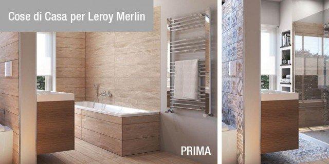 Vasche e docce accessori bagno cose di casa - Leroy merlin parete vasca bagno ...