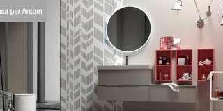 Mobili bagno: un nuovo sistema componibile e personalizzabile