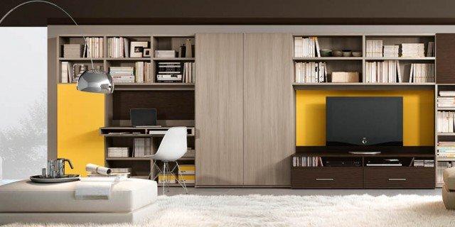 Mobile soggiorno 14 soluzioni miste per arredare il for Arredare il salone di casa