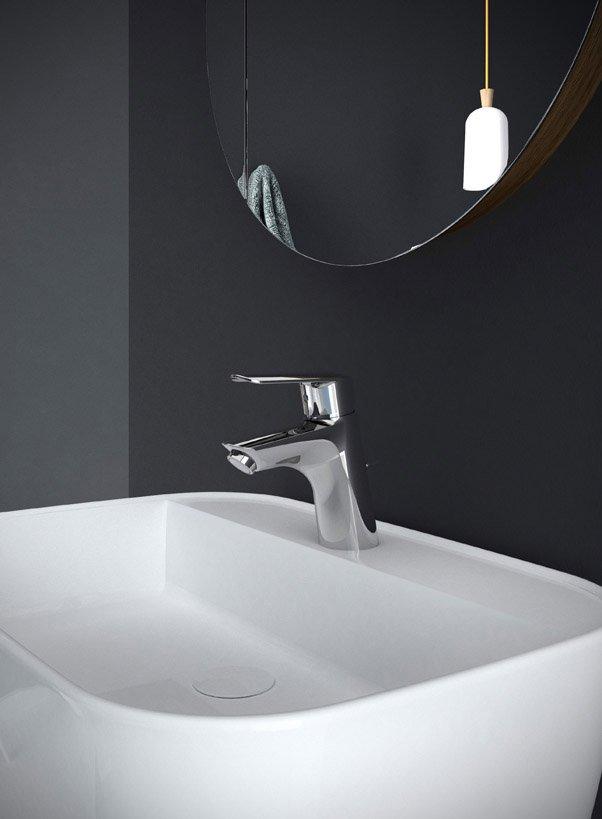 Rubinetteria per il bagno contemporaneo cose di casa - Rubinetteria bagno frattini ...