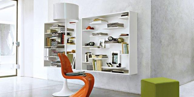 Arredamento: librerie, il posto giusto anche per cd e dvd