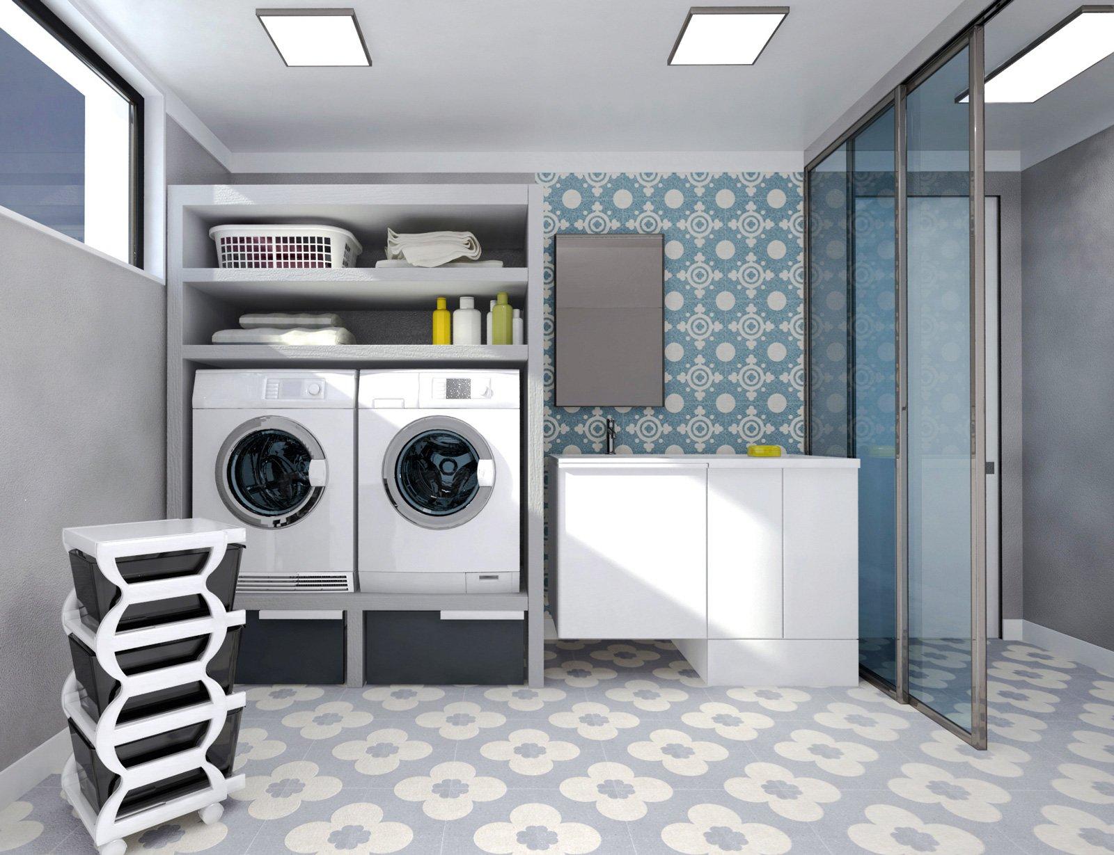 Progetti sistemare la cantina e trasformarla in cose - Arredo per lavanderia di casa ...