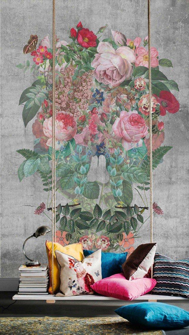 Con supporto tnt e disegno con stampa digitale il rivestimento Flower Maniac di Mr Perswall è disponibile in pannelli da 90 x 90 cm o teli da 245 x 45 cm, che costano entrambi 116 euro, l'uno; le dimensioni del disegno possono essere personalizzate. www.mrperswall.it