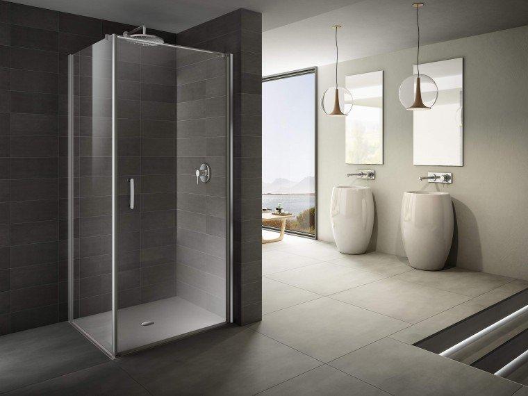 Box doccia linee minimal e perfetta tenuta all 39 acqua cose di casa - Valvola chiusura acqua bagno ...