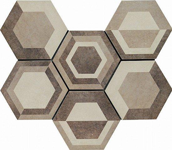 Hanno superficie leggermente strutturata le piastrelle in monocottura Rewind di Ragno; misurano 21 x 18,2 cm. www.ragno.it
