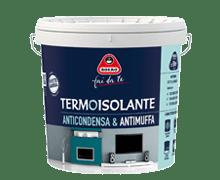 Contro la muffa idropittura termoisolante for Fissativo antimuffa