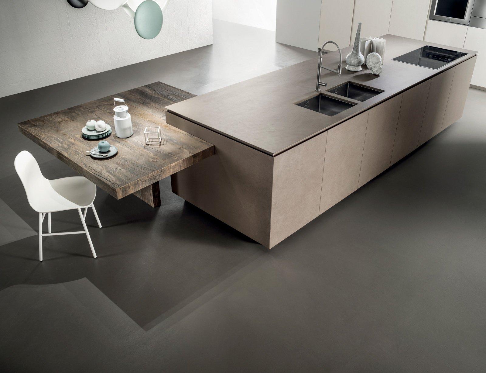 Piani di lavoro innovativi per la cucina cose di casa - Tavolo lavoro cucina ...