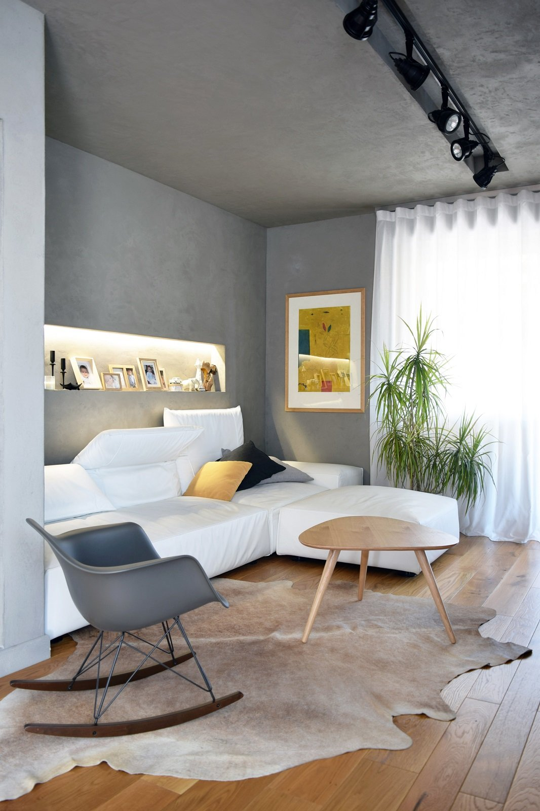 Sottotetto su due livelli con ambienti open space cose - Open space casa ...