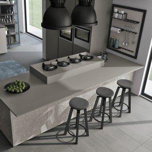 Piani di lavoro innovativi per la cucina cose di casa - Piano da lavoro per cucina ...