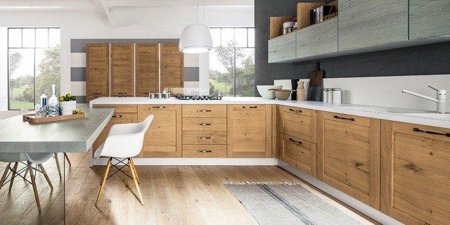 Cucina in legno: c'era una volta e ci sarà sempre!