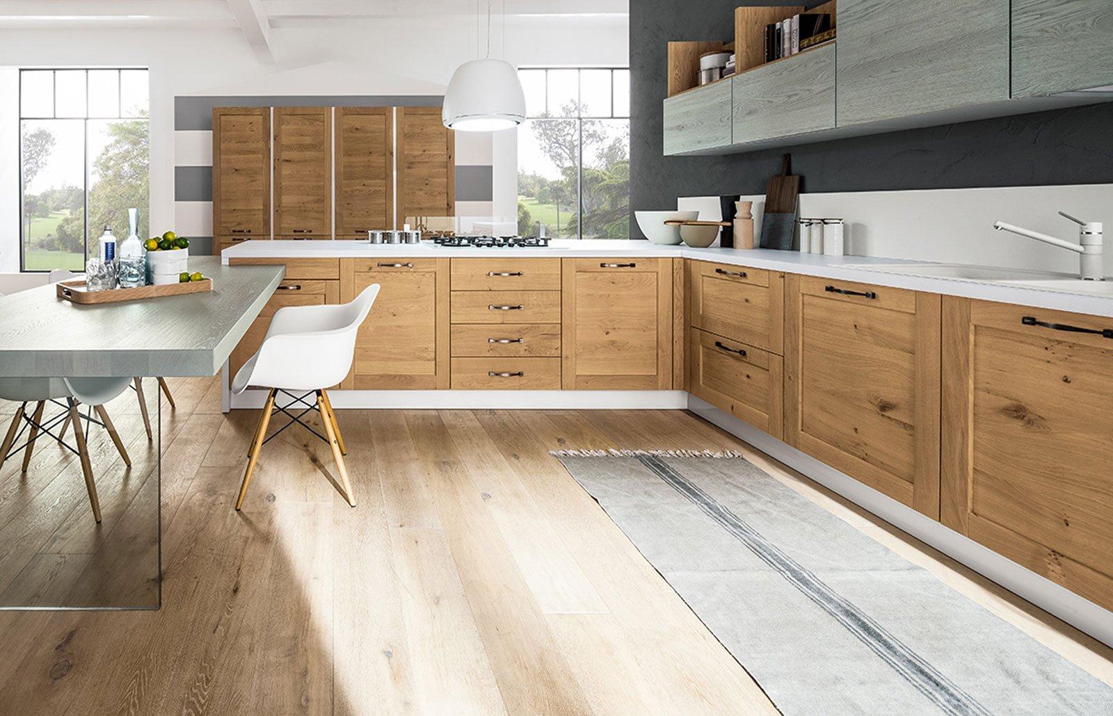 cucina in legno: c'era una volta e ci sarà sempre! - cose di casa - Cucina Rovere Naturale