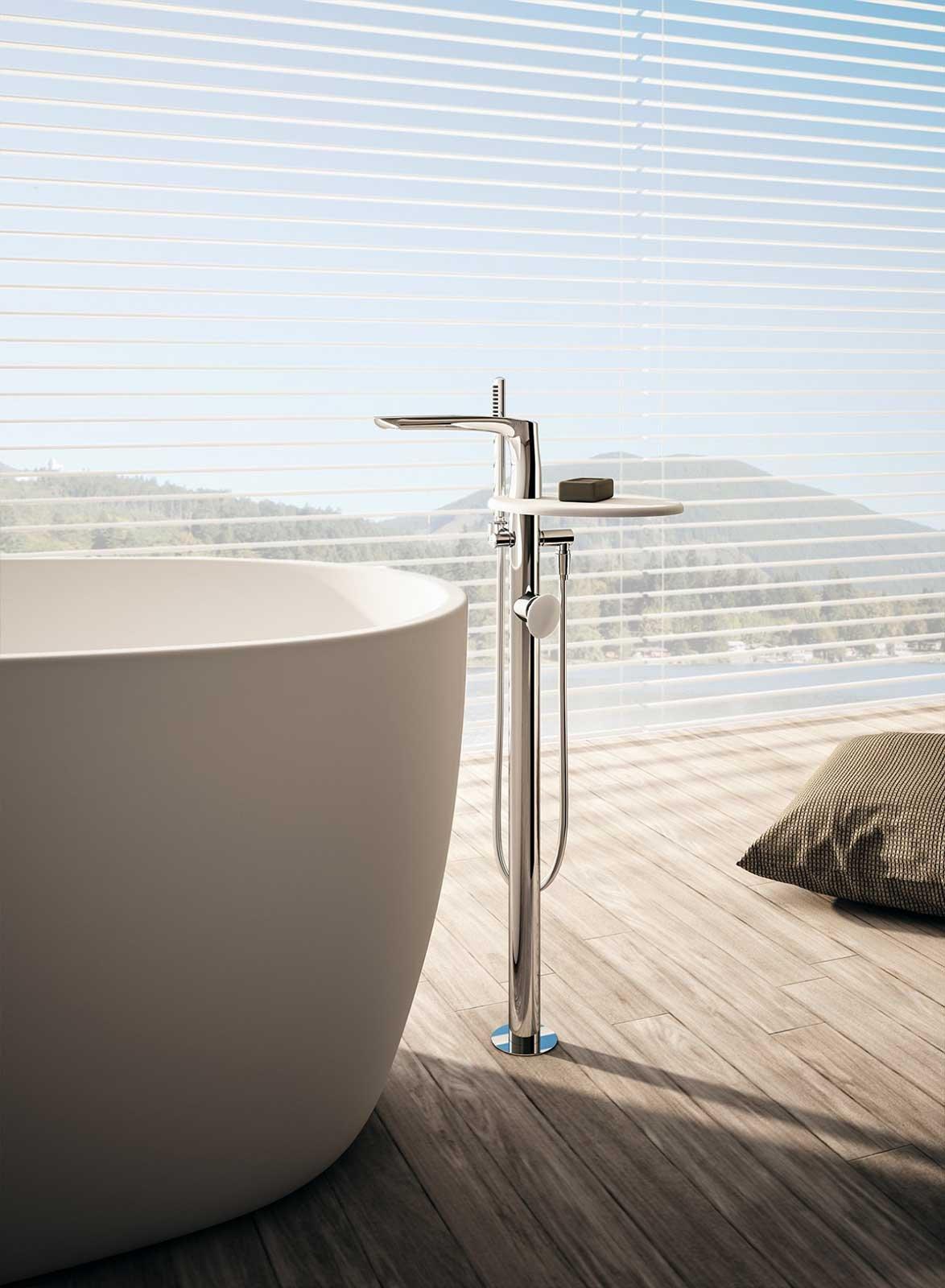 rubinetteria di design synergy di fir italia cose di casa. Black Bedroom Furniture Sets. Home Design Ideas