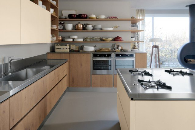 Piani di lavoro innovativi per la cucina cose di casa - Cucine piani di lavoro ...