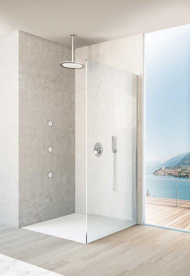 Rubinetteria di design synergy di fir italia cose di casa - Doccia a soffitto ...