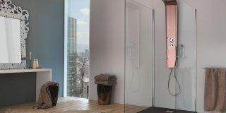 Colonna doccia: relax domestico in poco spazio