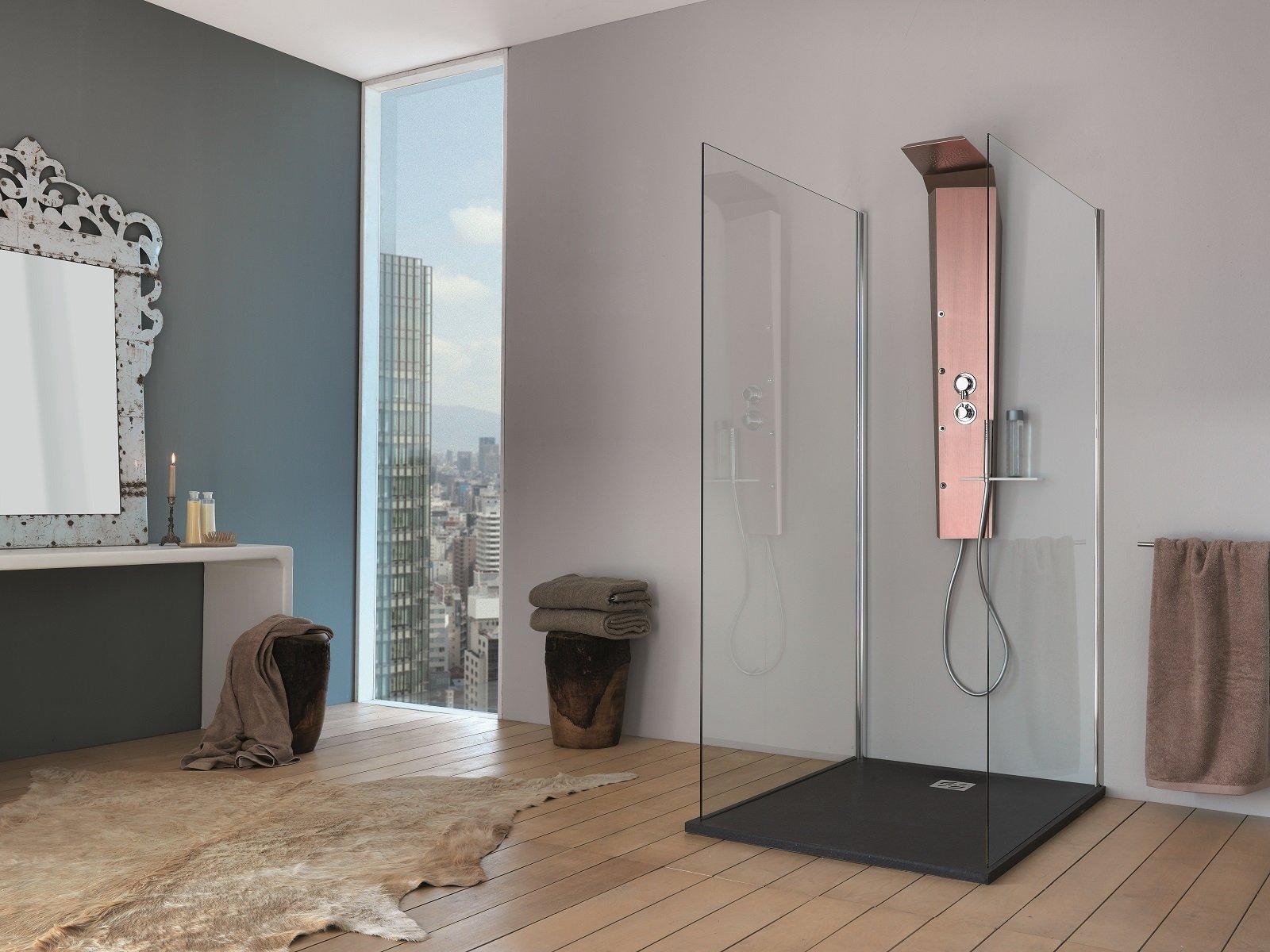 Colonna doccia relax domestico in poco spazio cose di casa - Bagno turco quante volte a settimana ...