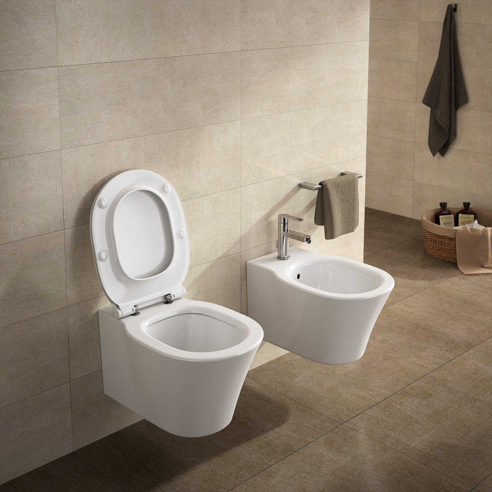 Water senza brida: estetica e maggiore igiene - Cose di Casa