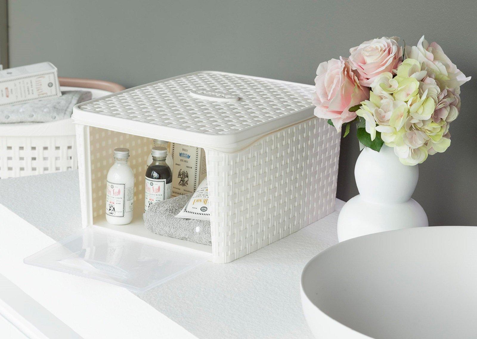 Cestini Da Bagno Leroy Merlin : Bagno tutto in ordine con i piccoli contenitori cose di casa