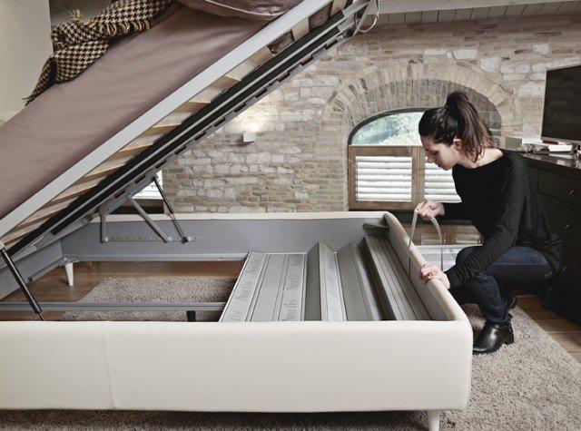 Letti con contenitore oggi ancora pi vantaggi cose di casa for Aprire il pavimento