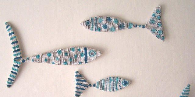 Per la casa vacanze o la cameretta, pesci decorativi