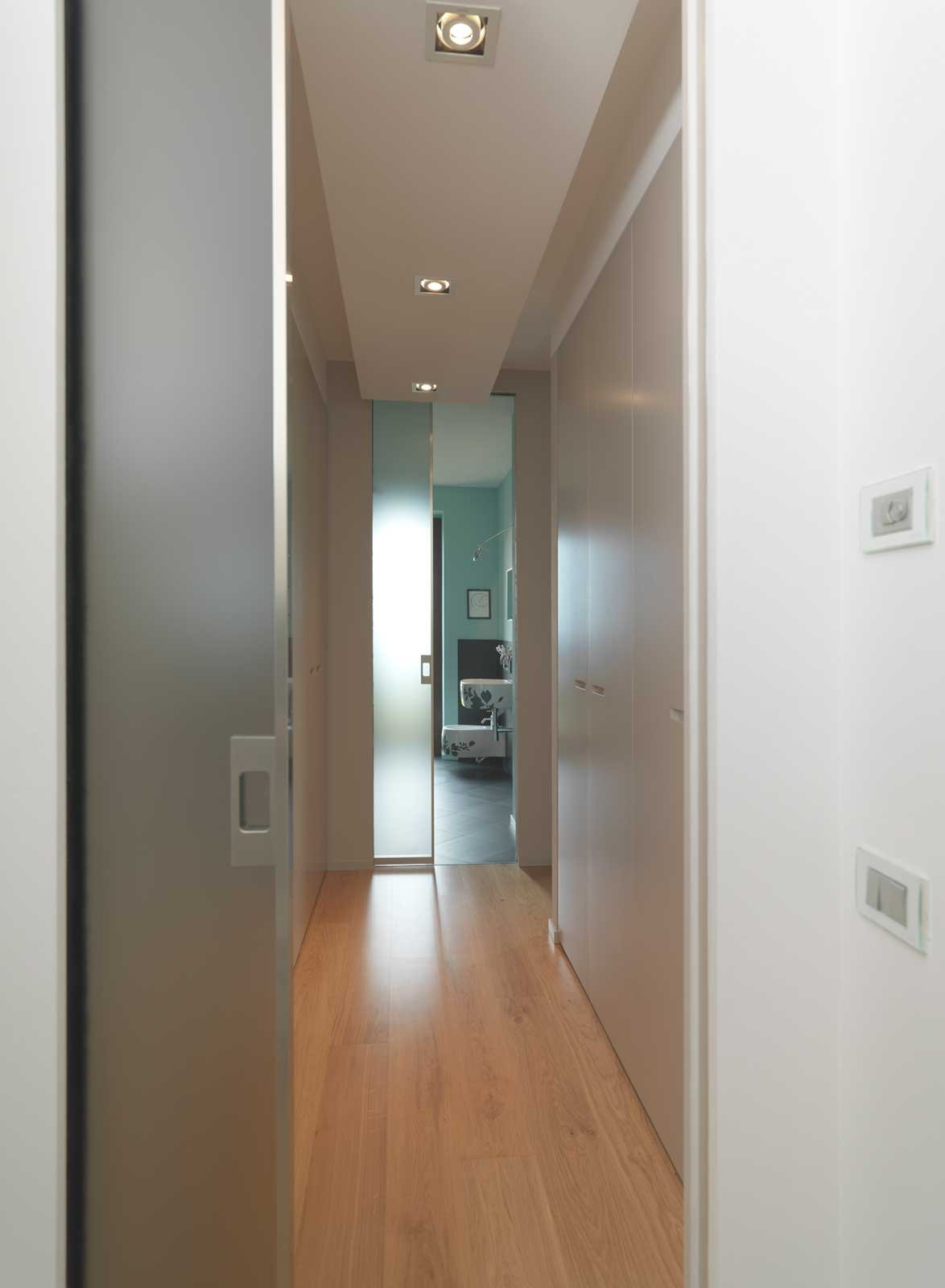 Come scegliere la porta scorrevole per il bagno cose di casa - Vetro per porta prezzo ...