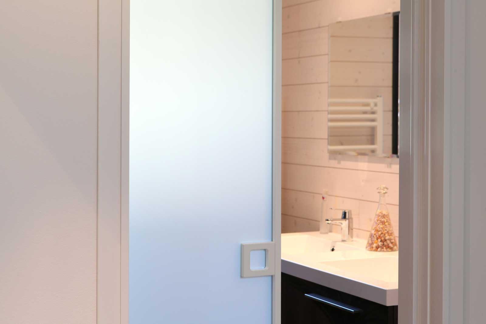 Porta scorrevole vetro esterna bricoman - Porta scorrevole esterna vetro ...