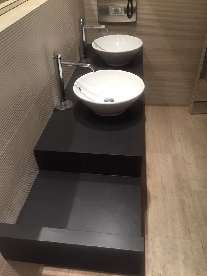 Pittura per bagni senza piastrelle cheap ceramiche with - Pittura per piastrelle ...