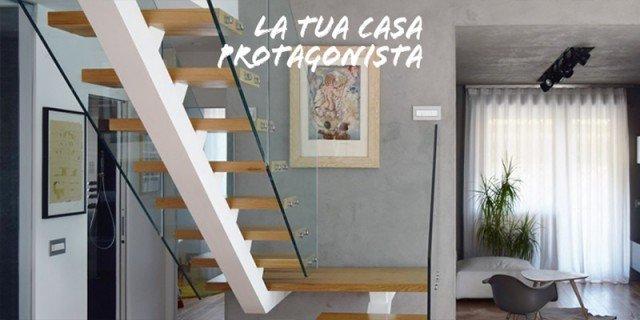 Sottotetto su due livelli con ambienti open space