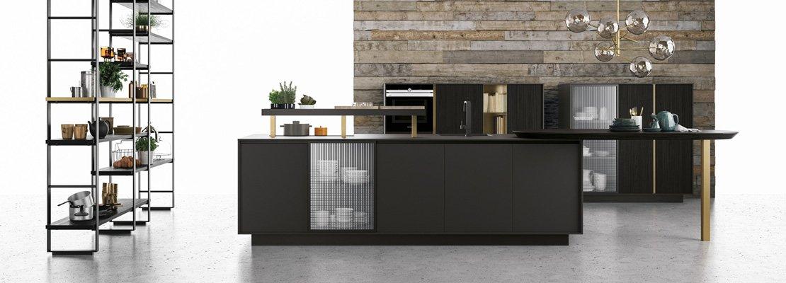 Piani di lavoro innovativi per la cucina cose di casa - Piani di lavoro cucina materiali ...