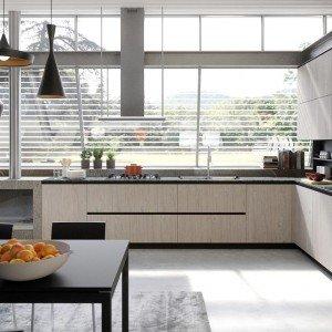 Cucina senza maniglie si apre con le gole cose di casa - Aran cucine lab 13 ...