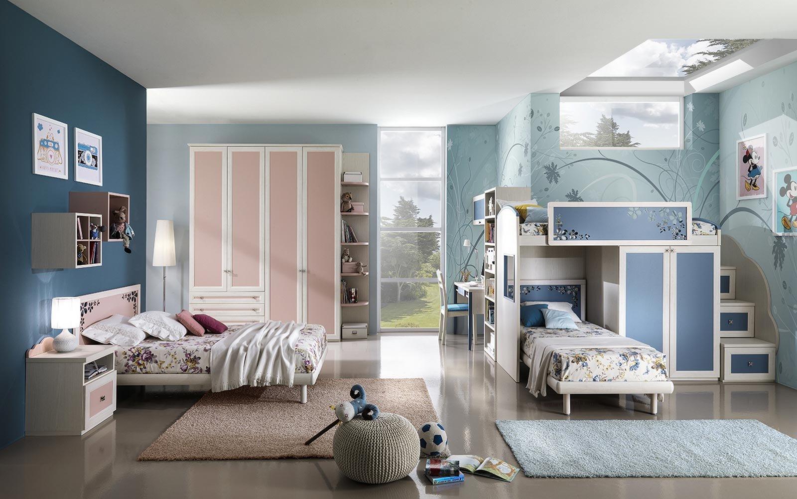 Scegliere la cameretta 14 soluzioni per tutti gli spazi cose di casa - Camere da letto piccoli spazi ...