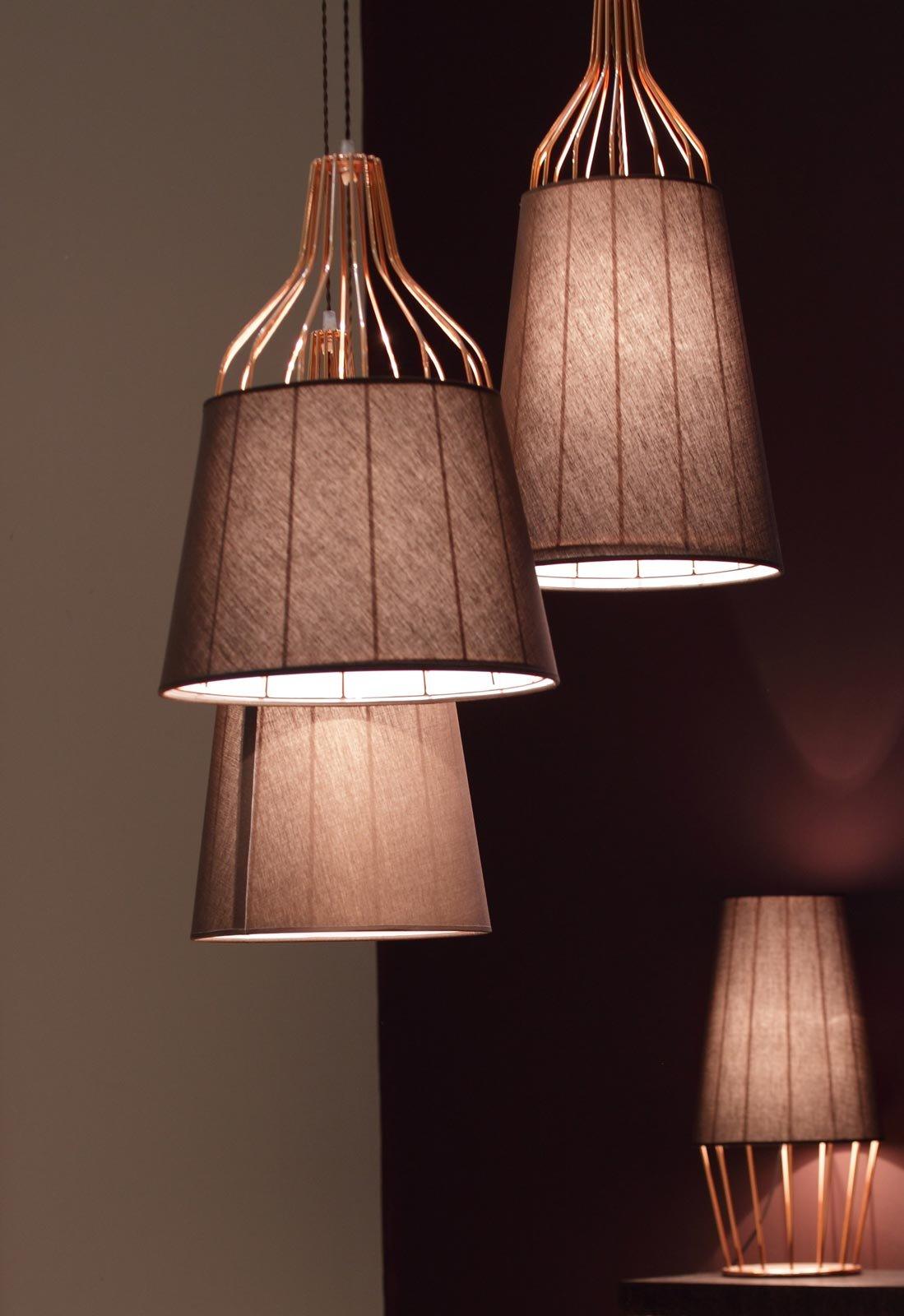 Creare Un Lampadario Di Stoffa lampadari: uno stile per ogni ambiente - cose di casa