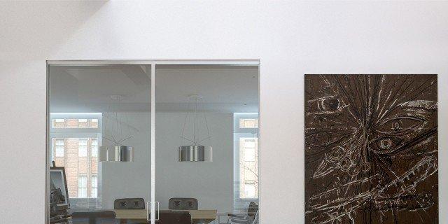 Porte a scomparsa in vetro: più spazio, più luce - Cose di Casa