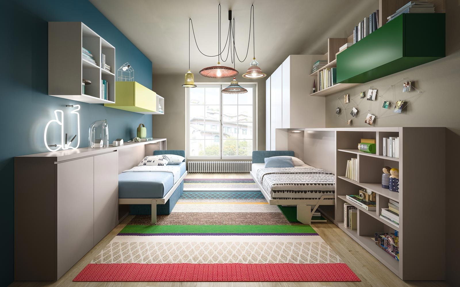Scegliere la cameretta 14 soluzioni per tutti gli spazi for Idee per arredare camera ragazzo