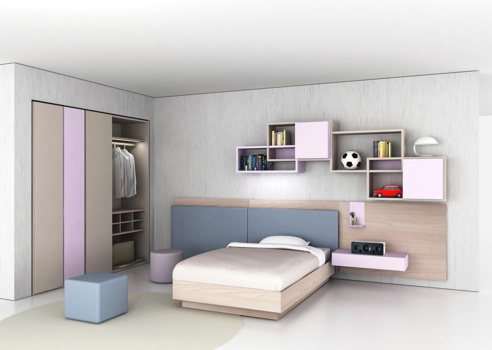 Scegliere la cameretta: 14 soluzioni per tutti gli spazi - Cose di ...