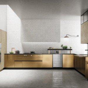 Cucina senza maniglie si apre con le gole cose di casa - Cucina senza piastrelle ...
