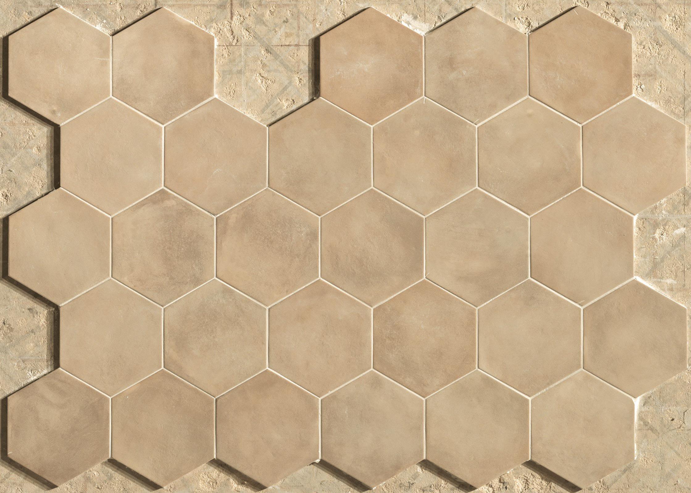"""Colorare Pavimento In Cotto piastrelle esagonali, un decor per """"arredare"""" pareti e"""