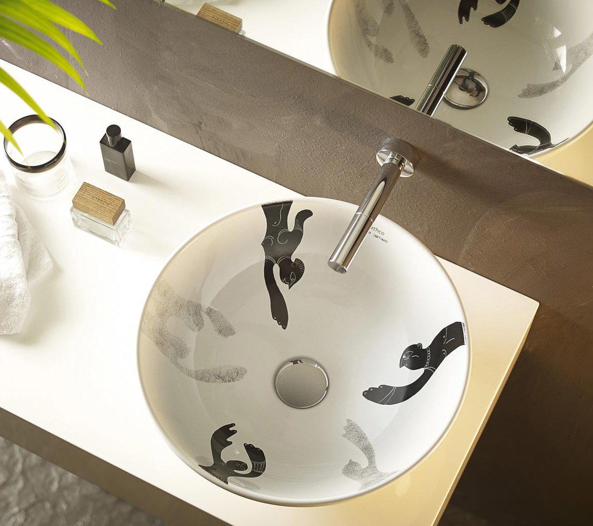 Rubinetti per lavabo 28 modelli diversi per ogni bagno cose di casa for Rubinetti a parete bagno
