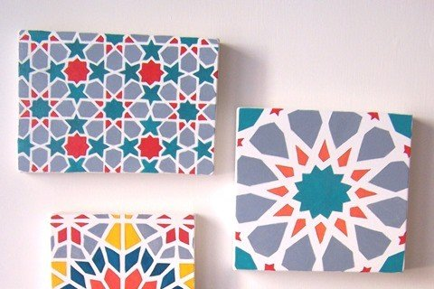 Piastrelle marocchine e azulejos come ottenere l 39 effetto - Piastrelle dipinte ...