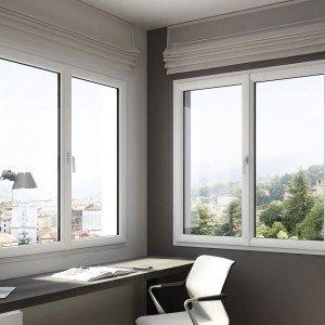 La finestra Prolux di Oknoplast (www.oknoplast.it) grazie al suo profilo snello e al nodo centrale ridotto, garantisce una superficie vetrata fino al 22% in più rispettoa una comune finestra in pvc.