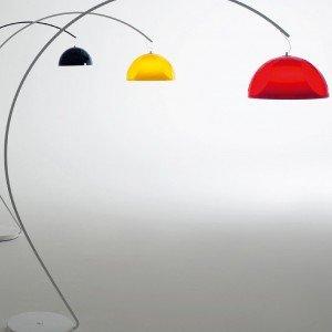 Lampada Arco, un\'icona di stile - Cose di Casa